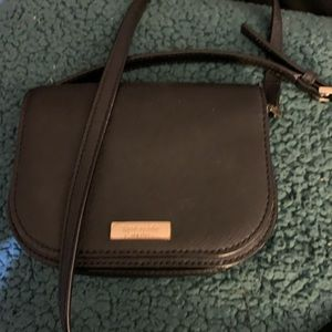 Black Kate Spade crossbody purse